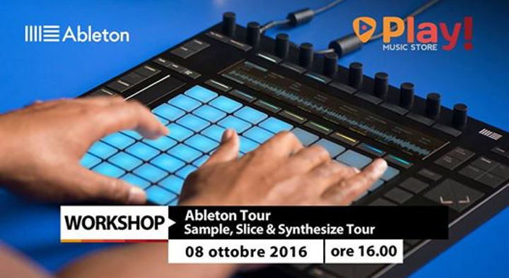 Ableton Sample, Slice & Synthesize Tour