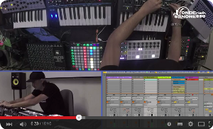 VIDEO: MAX SCOPPETTA PERFORMING LIVE CON BEATSTEP PRO