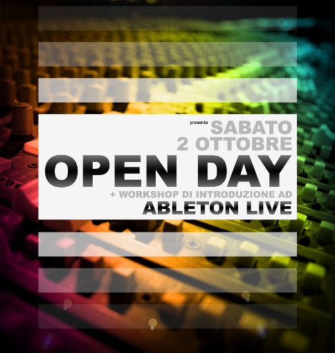 Open Day + Workshop gratuito : Introducing Ableton Live