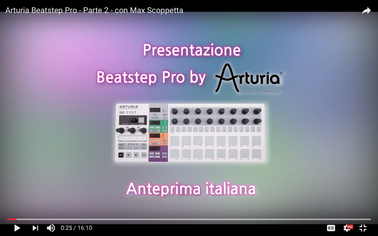 Workshop - Sequencer Beatstep Pro by Arturia come unità centrale del proprio studio