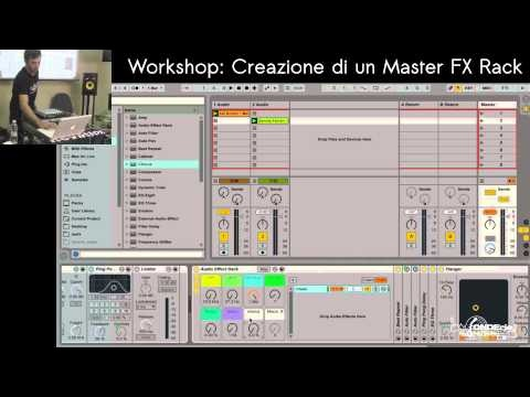 Workshop Ableton Live Performer