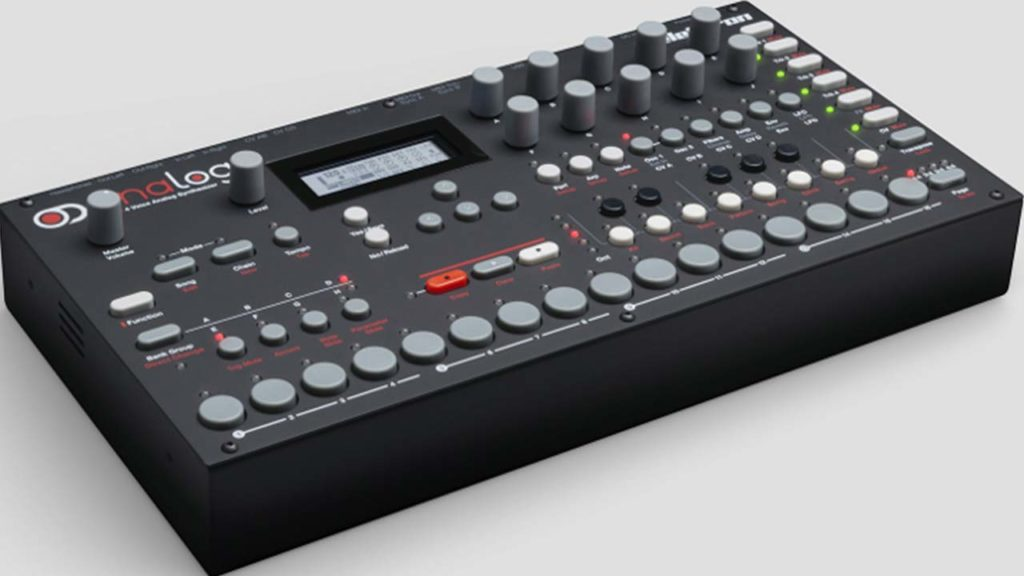 Lun 15/04: Presentazione Synth Elektron Analog Four