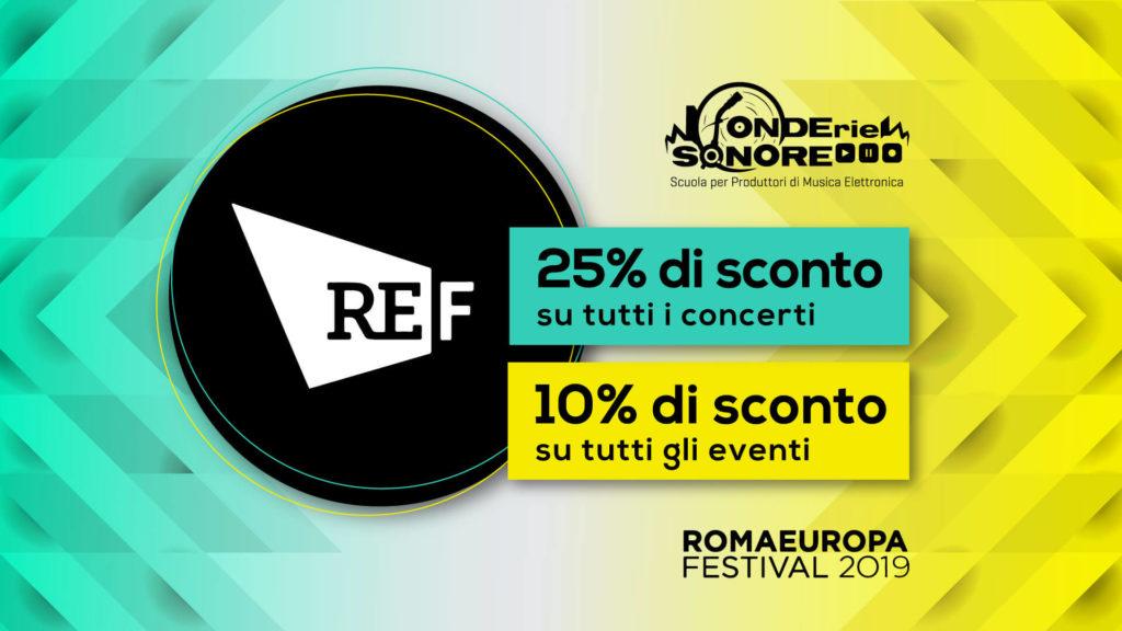 Partnership Romaeuropa Festival 2019