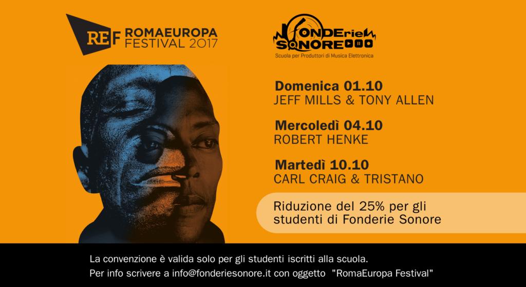 Partnership con Romaeuropa Festival