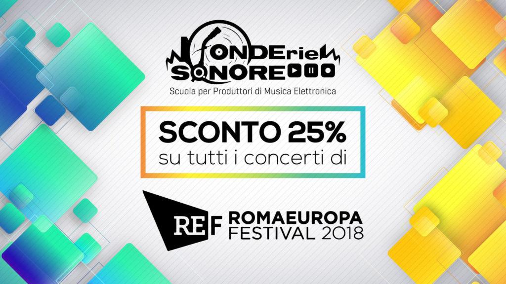 Partnership con Romaeuropa Festival 2018