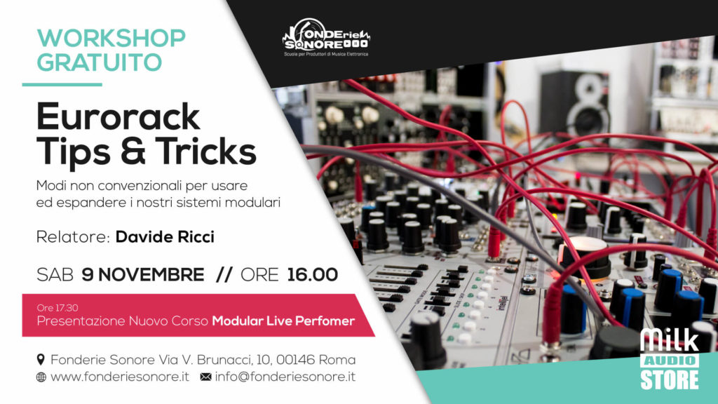 Workshop: Eurorack Tips &  Tricks