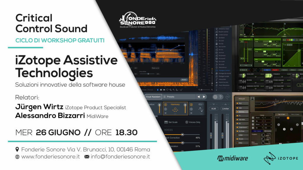Critical Sound Control - Workshop: iZotope