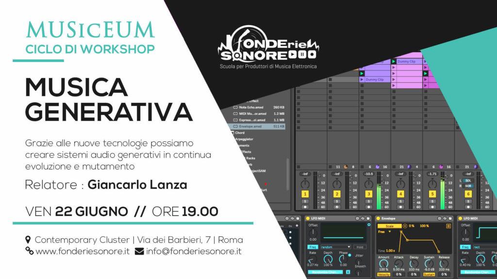 MUSicEUM - Workshop: Musica Generativa