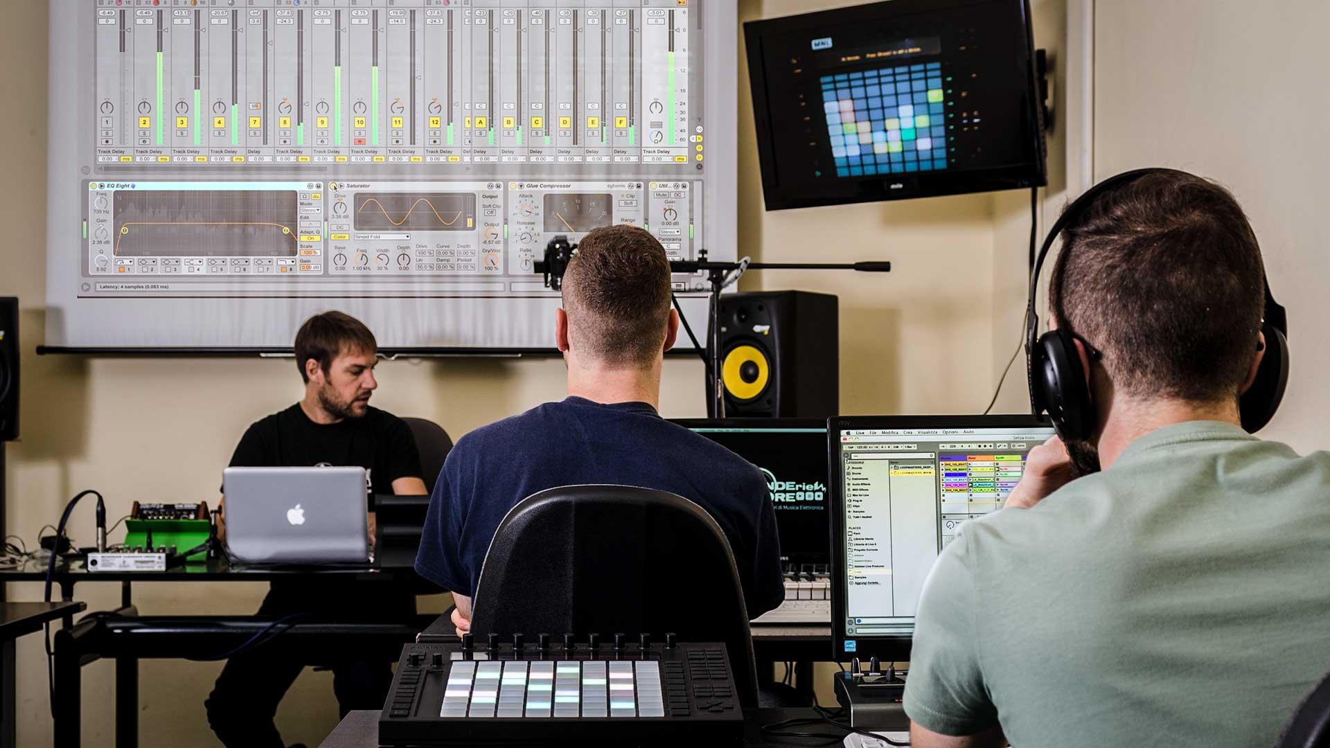 corso di Ableton Live 10 - Corsi di Musica Elettronica