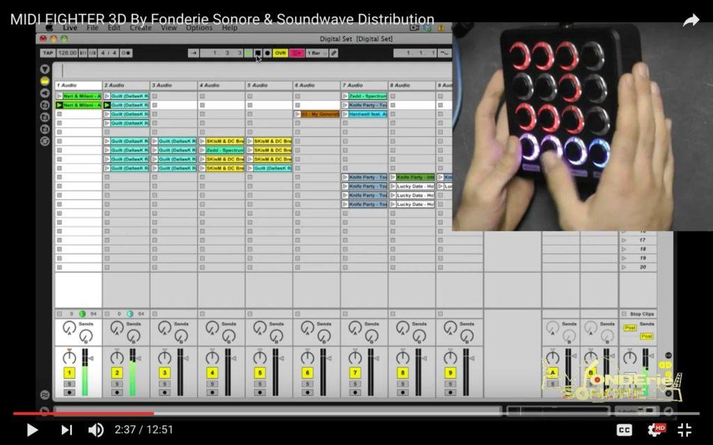 Recensione MIDI controller: MIDI Fighter 3D