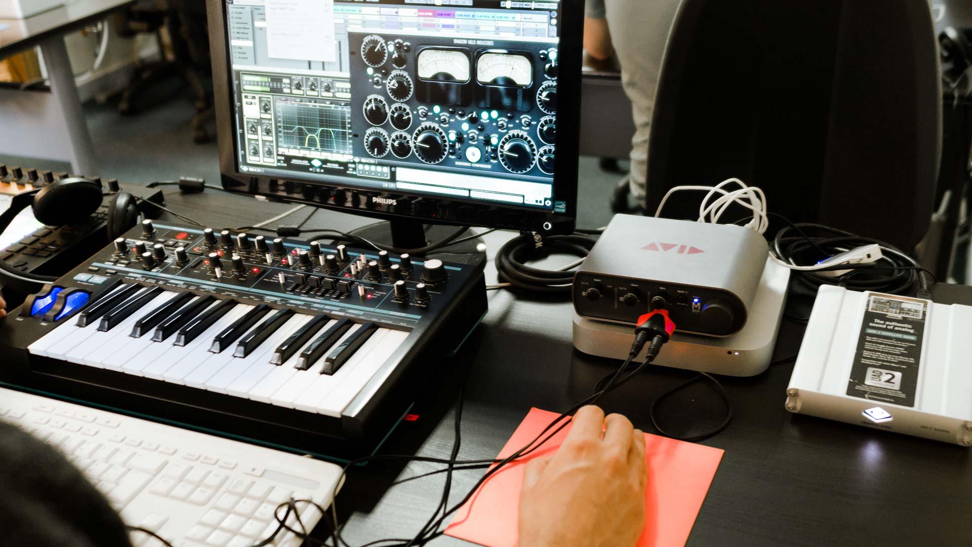 corsi musica elettronica