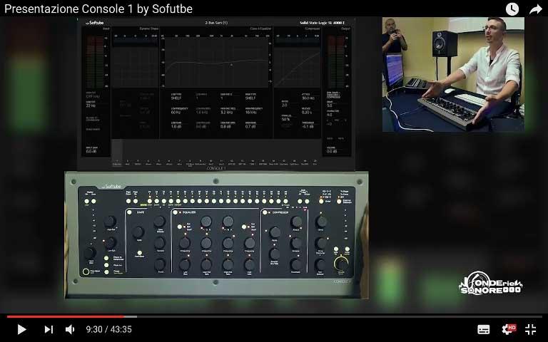 Presentazione Console 1 by Softube