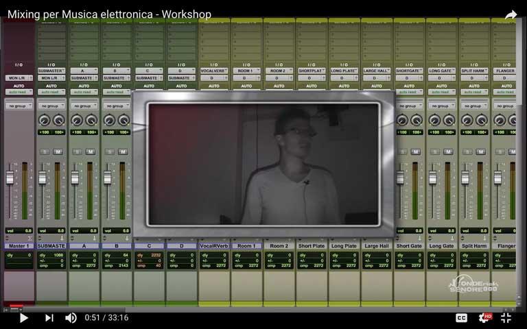 Mixing per Musica Elettronica