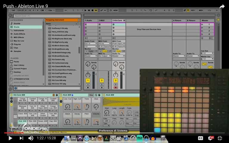 Presentazione – Live 9 e PUSH by Ableton