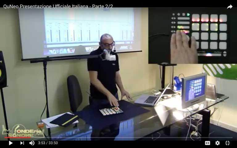 QuNeo: Presentazione Ufficiale Italiana