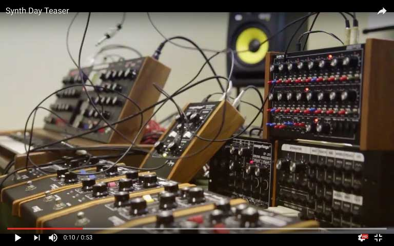 Synth Day 3.0 – Teaser
