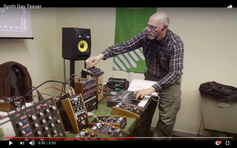 Workshop – Synth Day 3.0 – Moog, Arturia e Live
