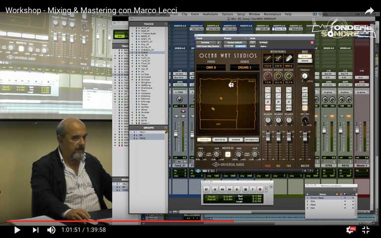 Mixing & Mastering con Marco Lecci