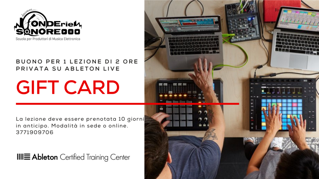 GIFT CARD Fonderie Sonore
